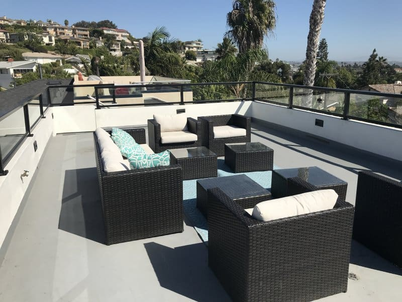 The Opal San Diego Patio Roof Top